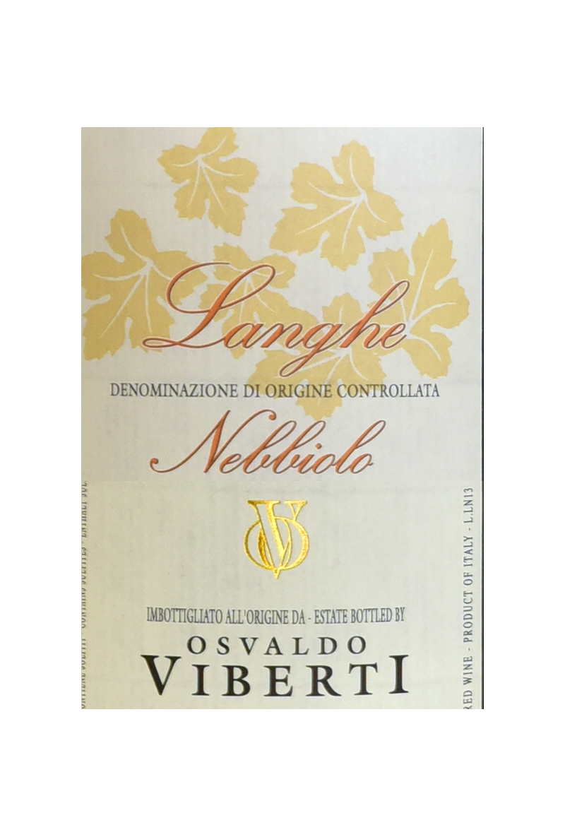 Osvaldo Viberti - Langhe Nebbiolo