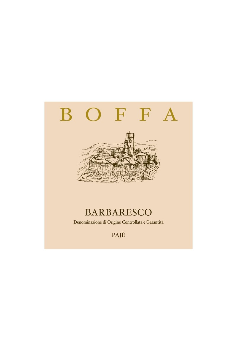 Carlo Boffa - Barbaresco Pajè DOCG