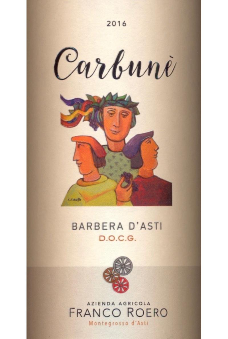 Franco Roero Barbera d'Asti Carbunè